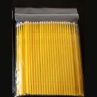 10/100PC Disposable Eyelash Extension Micro Brush Applicator Mascara Wands Tools