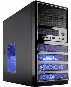 10-Core Gaming Computer Desktop PC 3TB HD Quad 16GB AMD R7 Graphic Internal WIFI