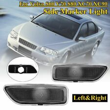 Front Left+Right Side Marker Turn Signal Lights For Volvo S60 V70 S80 XC70 XC90