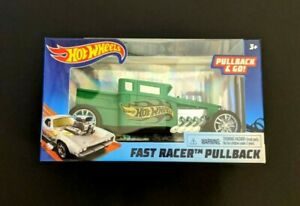 Hot Wheels Bone Shaker Fast Racer Pullback Car 1:32 2020 MODEL SAME-DAY SHIP