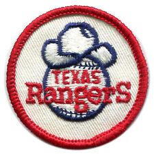 "1973 TEXAS RANGERS MLB BASEBALL KRAFT FOODS VINTAGE 2"" TEAM LOGO PATCH"