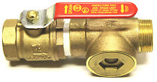 "1-1/4"" INSPECTORS TEST AND DRAIN VALVE 1/2"" Orifice WITH SIGHT GLASS"
