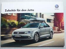 Prospekt Volkswagen VW Jetta Zubehör, 8.2014, 40 Seiten