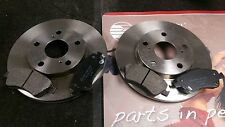 TOYOTA AURIS 1.3 1.4 D-4D 1.6 2006-2013 FRONT DISCS AND PADS with BOSCH SYSTEM
