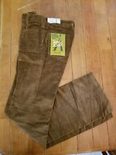 Sears The Jeans Joint Flare leg Corduroy Pants 31 x 32 New Nwt true Vintage