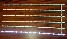 NEW SAMSUNG UN55JU7100F LED Backlight Strips Set LM41-00109X & LM41-00109Y