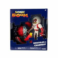 Tomy Sonic Boom 2 Figure Pack Space Suit Knuckles & Crabmeat (NEW & SEALED)