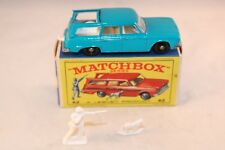 Matchbox Lesney No 42 Studebaker Station Wagon BPW vnm in RED PICTURED RARE BOX