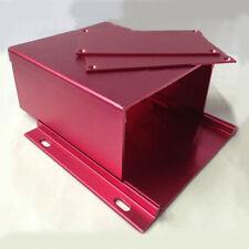 Aluminum Power Amplifier Enclosure HIFI Vacuum Tube Box DIY 131*54*120mm Decoder
