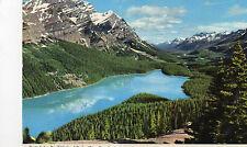 Postcard Canada  Peyto Lake Banff National Park  Alta posted Hinde