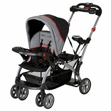 Standard Sit N Stand Stroller Allows Children to Sit or Stand Along the Ride
