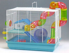New 2 Floor Hamster Rodent Gerbil Mouse Mice Critter Trail Habitat Cage 483