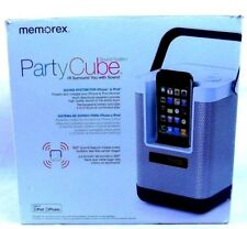 Audio House Party Portable Sound System Iphone 4-6 hrs play rechargeabl battery