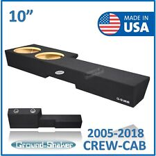 """Made for Nissan Frontier crew cab 10"""" Dual Sealed Sub box Subwoofer Enclosure"""