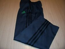 ADIDAS GRAY W/BLACK STRIPES ATHLETIC PANTS BOYS MEDIUM 10-12 EXCELLENT COND.