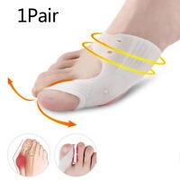 1Pair Gel Bunion Corrector Bone Big Toe Protector Hallux Toe Spreader PedicuDD