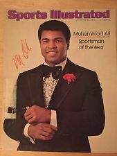 Muhammad Ali SIGNED Sports Illustrated Cover