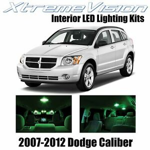 XtremeVision Interior LED for Dodge Caliber 2007-2012 (6 PCS) Green