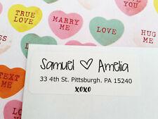 XOXO Wedding Return Address Labels, Guest Address Labels, Invitation