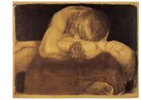 Art Postcard, Pieta (1903), by Kathe Kollwitz 2M