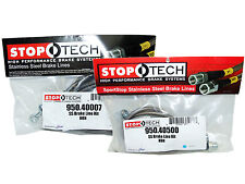 Stoptech Stainless Steel Braided Brake Lines (Front & Rear Set / 40007+40500)