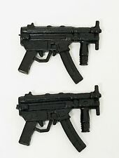 FIG-MP5: 1/12 scale MP5 Submachine Gun x 2 for ML, Mezco One:12 (No tracking)