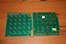 2 Untested/Parts Bally Paclite Matrix pinball Boards  (SEE The PHOTOS)