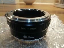 Fikaz Nikon- Sony E Mount Lens Adaptor