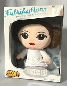"""Star Wars Funko Fabrikations Soft Sculpture Princess Leia #27 MIB 6"""" Plush NEW"""