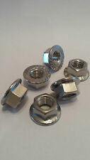 Yamaha FZS600 1000 FAZER A2 Stainless steel sprocket nuts x6 all years 1997-2005