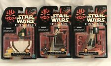 Hasbro Star Wars Episode I TATOOINE, NABOO, UNDERWATER ACCESSORY SETS  Lot Of 3