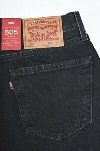 Foncé Levi's 505 Standard 100% Coton Homme Jean