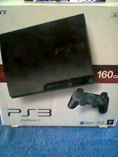 Sony PLAYSTATION 3 Slim Charcoal Black 160 GB Console PS3