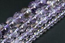 Genuine Natural Ametrine Beads Grade AA Round Gemstone Loose Beads 6/8/10/12MM