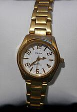 Montre dame Pulsar neuve bracelet acier dorée  PTC 432