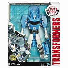 HASBRO transformers Robots in Disguise 3-Step Changers Steeljaw Figure B1726