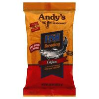 ANDYS ANDYS, BREADING FISH CAJUN, 10 OZ, (Pack of 6)