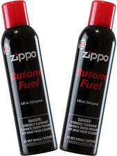 2 cans Zippo Premium Butane Fuel 5.82 oz. 165 Grams Each