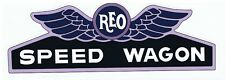 Reo Speed wagon Truck Vintage Tribute Retro Stickers