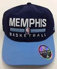 promo code abb9c e0370 NBA Memphis Grizzlies Adidas Buckle Back Cap Hat Beanie Style  EZ65Z NEW!