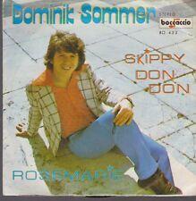 """7"""" Dominik Sommer Skippy Don Don / Rosemarie Boccaccio Records BO 433"""