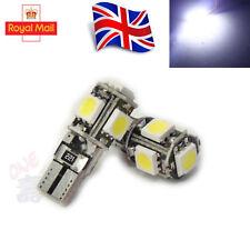 4x 501 W5W 5SND Bombilla LED T10 SMD Coche Luces interiores laterales Lámpara Libre De Error Canbus