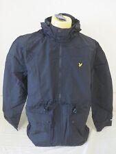 Lyle & Scott Vintage Da Uomo Micropile Lind giacca nero VERA XXL 2XL NUOVI RRP250