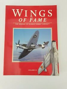 Book paperback -Wings Of Fame -Volume 9- The Journal of Classic Combat Aircraft