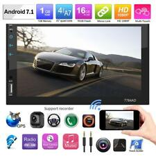"""7"""" Doppel 2DIN Android Bluetooth Auto Radio Stereo MP5 Player GPS Touch FM/USB"""