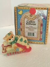 "Cute Calico Kittens ""Friendship Covers The Holidays"" 1997 Priscilla Hillman"