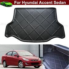 Car Cargo Mat Trunk Liner Tray Floor Mat For Hyundai Accent Sedan 2012-2016 2017