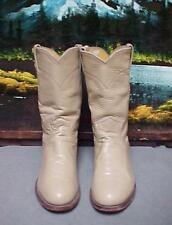 """Vintage Justin Western Cowboy Boots Women's Size 6.5B """"Made In The USA"""""""