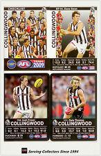 2009 AFL Teamcoach Trading Card Base Team set Collingwood (13)