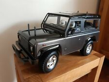 Tamiya CC-01 1/10 Land Rover Defender 90. Built Kit, Cockpit detail and lights.